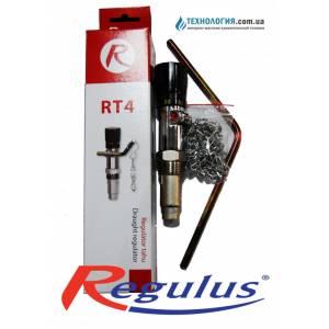 Терморегулятор механический REGULUS RT 4  для твердотопливных котлов