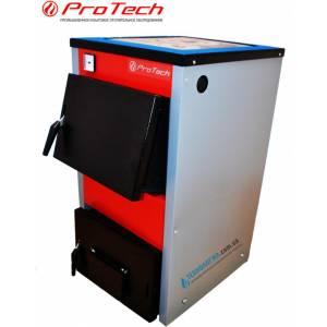 Котел твердотопливный длительного горения ProTech ТТП 12с Д Luxe 4 мм с плитой
