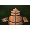 Печь тандыр Ретро с решеткой и шампурами 5 шт. в комплекте