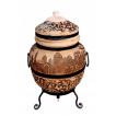 """Печь тандыр """"дизайн """"Город"""" 75 литров с решеткой лопаткой и кочергой в комплекте"""