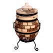 """Печь тандыр """"дизайн """"Кирпич"""" 45 литров с решеткой лопаткой и кочергой в комплекте"""