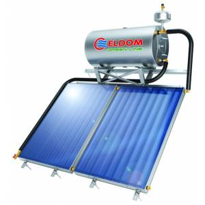 Всесезонный термосифонный солнечный коллектор ELDOM TS200C