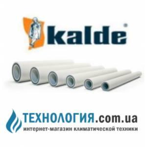 Полипропиленовая труба Kalde FIBER(стекловолокно) д. 20 мм, цвет белый