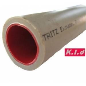 Полипропиленовая композитная труба K.L.D. stabi (алюминий) д.20 мм