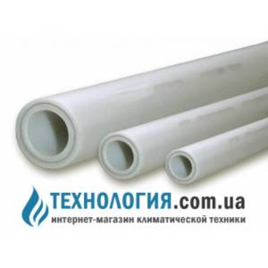 Труба незачистная  SANICA PP-R COMBI PIPE PN25 D20 композит, диаметр 20мм