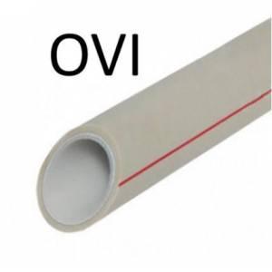 Полипропиленовая композитная труба Ovi Composite Stabi Pn-20 (алюминий) д.20 мм