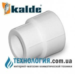 Муфта Kalde соединительная с переходными диаметрами д. 25-20 мм, цвет белый