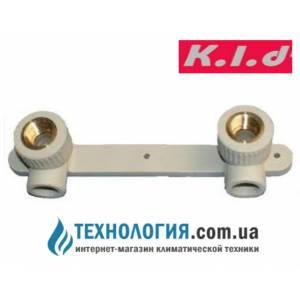 """Настенный комплект K.l.d для смесителей с внутренней резьбой 20x1/2"""""""