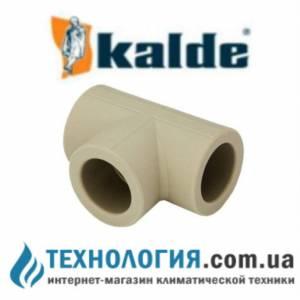 Тройник Kalde с переходными диаметрами 25-20-25, цвет серый