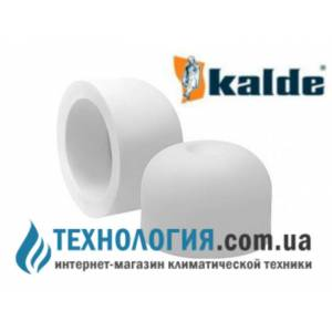 Заглушка Kalde диаметром 20 мм, цвет белый