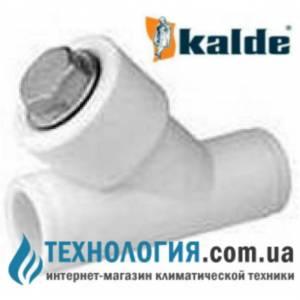 Фильтр 20 мм Kalde грубой очистки, цвет белый