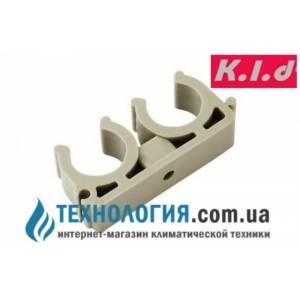 Крепление для труб  двойное *U* - типа диаметр 32 мм