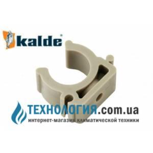 Крепление для труб Kalde одинарное *U* - типа диаметр 25 мм