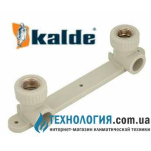 """Настенный комплект Kalde для смесителей с внутренней резьбой 20x1/2"""""""