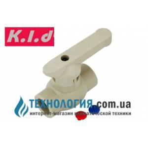 Шаровый кран K.l.d с латунным шаром 20 мм