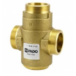 """Трехходовой антиконденсатный термостатический клапан FADO 1 1/2"""" 55 °С Kv 9"""