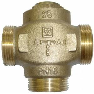 """Трехходовой термостатический клапан HERZ TEPLOMIX 1 1/2"""" (DN 32)"""