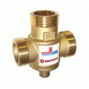 """Трехходовой термостатический смесительный клапан GIACOMINI 1 1/4"""" (45 °C) Kv 9 - DN32"""