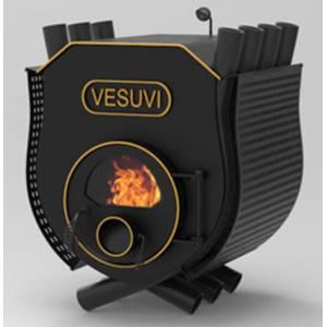Дровяная печь VESUVI c варочной поверхностью 11 кВт стекло и перфорация