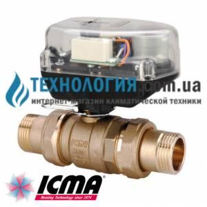 """Шаровый зонный вентиль 1"""" Icma"""