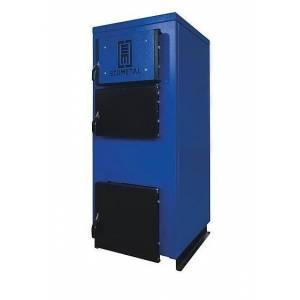 Твердотопливный котел ECOMETAL UKS 17-20 кВт охлаждаемые колосники сталь теплообменника 4 мм