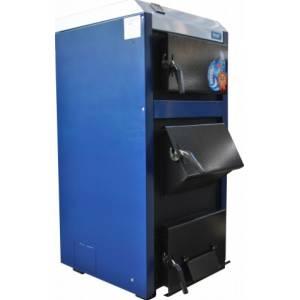 Котел твердотопливный Корди АОТВ - 26 кВт, сталь 4 мм, уголь, дрова, брикеты