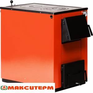 Котёл твердотопливный  Макситерм 20 П,серия Классик,20 кВт,с варочной поверхностью