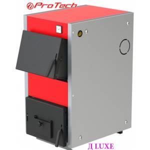 Котел электро-твердотопливный ProTech ТТ 15с Д LUXE,сталь 4 мм,15 кВт,колосники комби,глубина топки 390мм