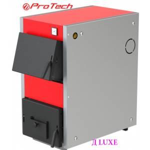Котел электро-твердотопливный ProTech ТТ 21с Д LUXE,сталь 4 мм,21 кВт,колосники комби,глубина топки 555 мм,длительного горения