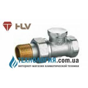 """Ручной радиаторный вентиль простой регулировки прямой под ключ 1/2"""" HLV NEW"""