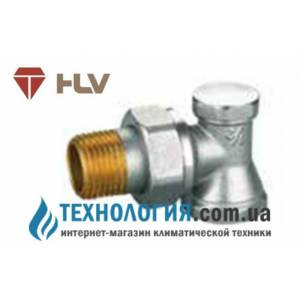"""Ручной радиаторный вентиль простой регулировки угловой под ключ HLV 1/2"""" NEW"""