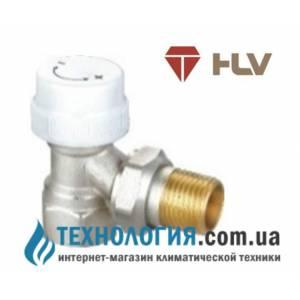 Термостатический радиаторный кран HLV угловой 1/2