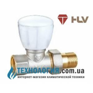 """Ручной радиаторный вентиль простой регулировки прямой 1/2"""" HLV NEW"""