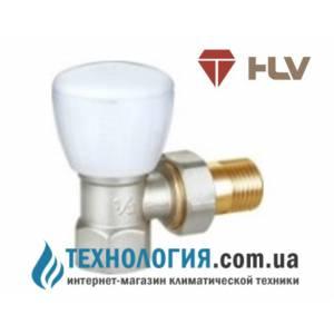 """Ручной радиаторный вентиль простой регулировки угловой HLV 1/2"""" NEW"""