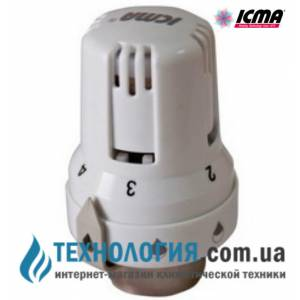 Термостатическая головка к радиаторным кранам ICMA  жидкостный элемент, с резьбой 28 х 1,5