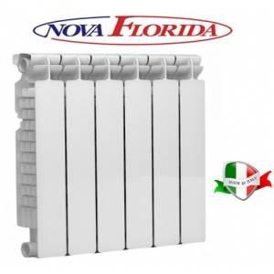 Алюминиевый радиатор NOVA FLORIDA EXTRA THERM SUPER ALETERNUM 500-100  ПОКРЫТИЕ ALETERNUM