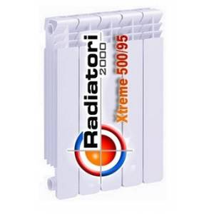 Радиатор биметаллический Radiatori 2000 XTREME 500 (Радиатори Экстрим)