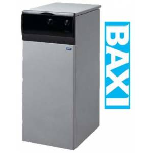 BAXI SLIM 1.230 i,напольный ,чугунный, одноконтурный, дымоходный с насосом и баком, 23 кВт