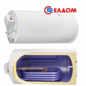 Комбинированный водонагреватель Eldom Green line 120 X  2 кВт дополнительный теплообменник 0.59 m2