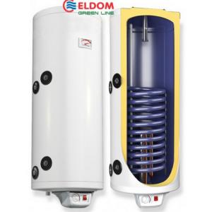 Комбинированный водонагреватель Eldom Green line 120 2 кВт дополнительный теплообменник 0.65 m2