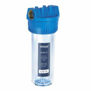 Колба для фильтра очистки воды Насосы плюс оборудование FE10-1/2B, прозрачная