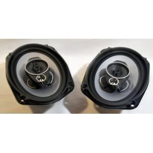 Автомобильные колонки SP6963 1000W 3-х полосная 16x24 см.