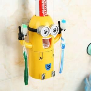 Дозатор для зубной пасты с держателем щетки Миньон