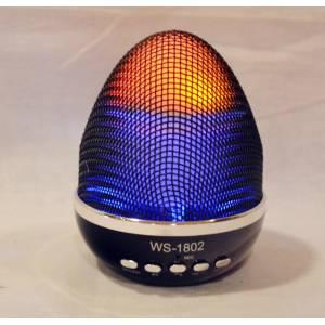 Портативная колонка WSTER WS-1802 яйцо фаберже