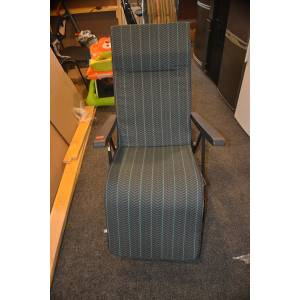 Кресло-шезлонг раскладное на пружинах. Новое!