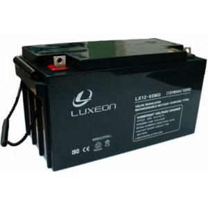 Аккумуляторная батарея Luxeon LX 12-65 MG