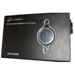 Источник бесперебойного питания Luxeon UPS-500S (синусоида)