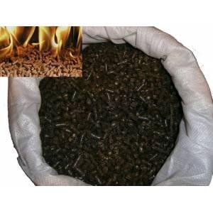 Пеллеты топливные из лузги  подсолнечника 2 сорт цена за тонну
