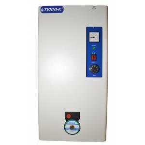 Электрический котёл с насосом TEHNI-X кэт 12 серии Премиум 12 квт 220/380 в, 3 ступени,  с возможностью подключения выносного программатора