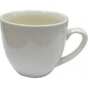 Комплект керамических чашек  «Одесса» цвет белый 200мл. от 6 шт